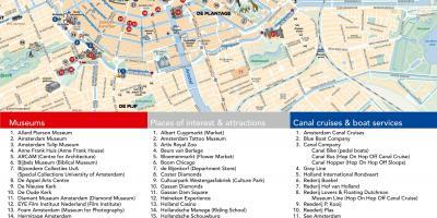 Amsterdam Kort Kort Amsterdam Holland